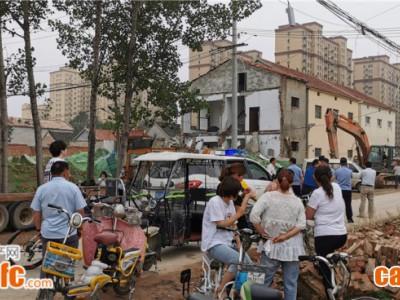 实拍!曹县尹坑(万达)棚改片区大量房屋已腾空交付并拆除