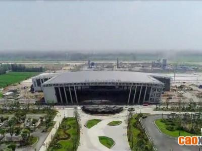 航拍!菏泽牡丹机场建设!预计10月具备通航条件,年底正式通航···