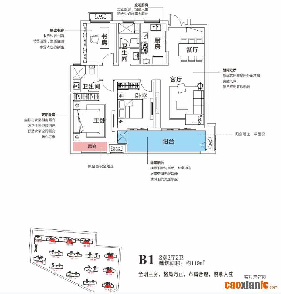 B1天润公馆3期B1户型